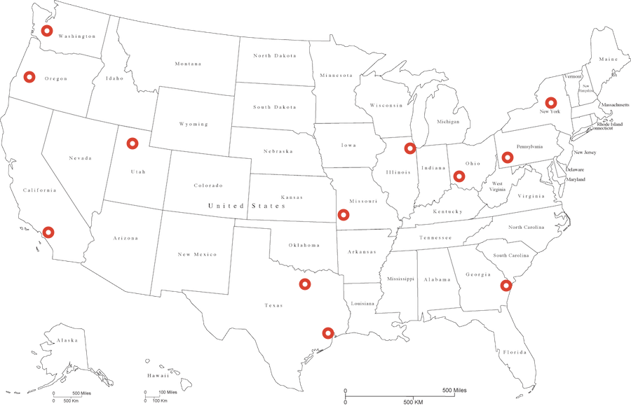 Warehouse Locations